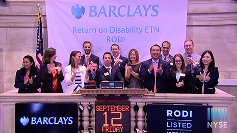 Return on Disability at the NY Stock Exchange